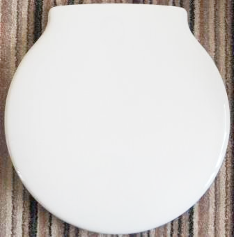 Ideal Standard Space Round Toilet Seat White 02002032