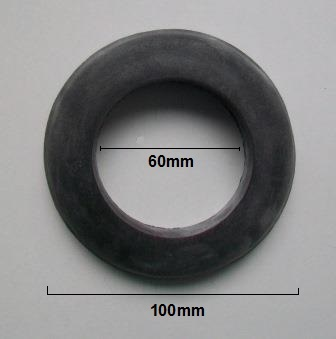 Large Rubber 2 in Close Coupled Cistern Doughnut Washer - 08000130