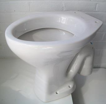 Low Level Toilet Pan S Trap Down Facing Outlet - 05005350