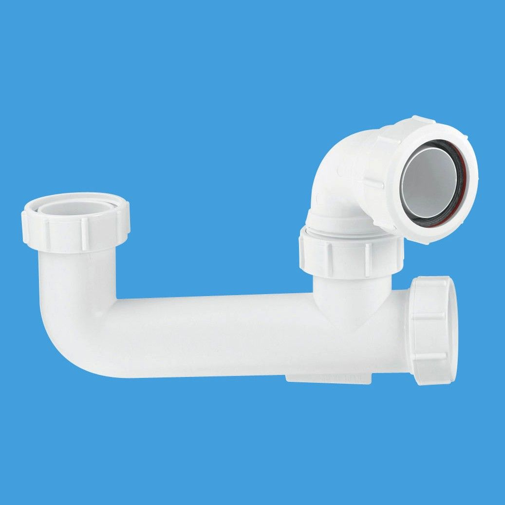 McAlpine 1.1 2 - 40mm Extended Bath Trap SM10E - 38001890 - Plumbers ...