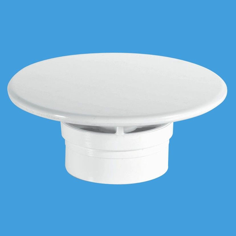 Mcalpine 1 1 2 Shower Trap White Mushroom Flange 70mm
