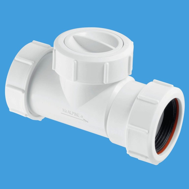 Gas Cooker Fitting >> McAlpine 1.1 2 Waste Compression Non Return Valve T28M-NRV - 39004005 - Plumbers Mate Ltd