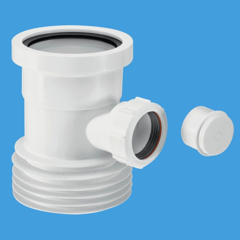 Mcalpine 110mm Boss Connector For Pan Connectors Wc Bp1