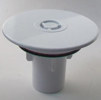 Mcalpine 90mm Shower Waste White Cover Top Amp Insert Tube