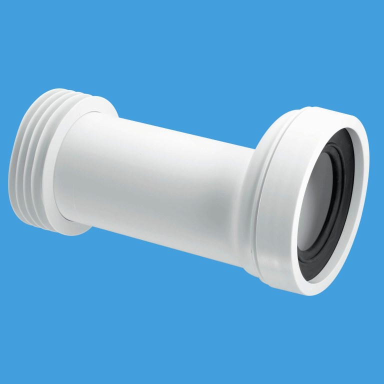 Mcalpine Adjustable 20mm Offset Toilet Pan Connector