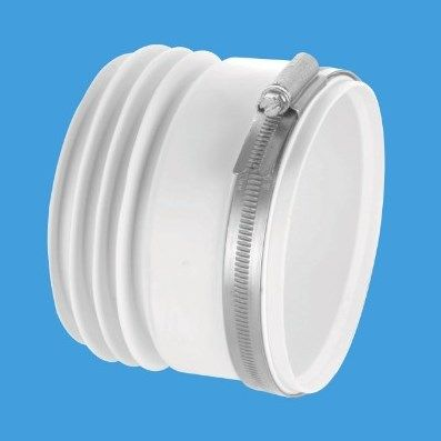 Mcalpine Back To Wall Straight Toilet Pan Connector