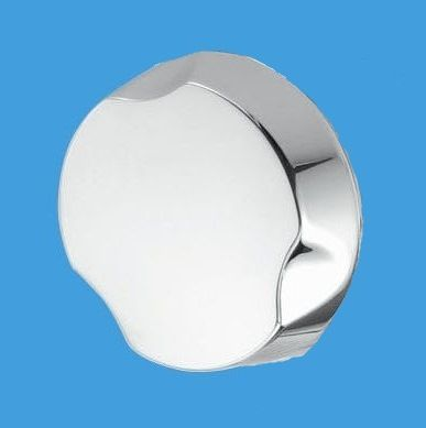 Mcalpine Chrome Brass Bath Pop Up Waste Control Knob