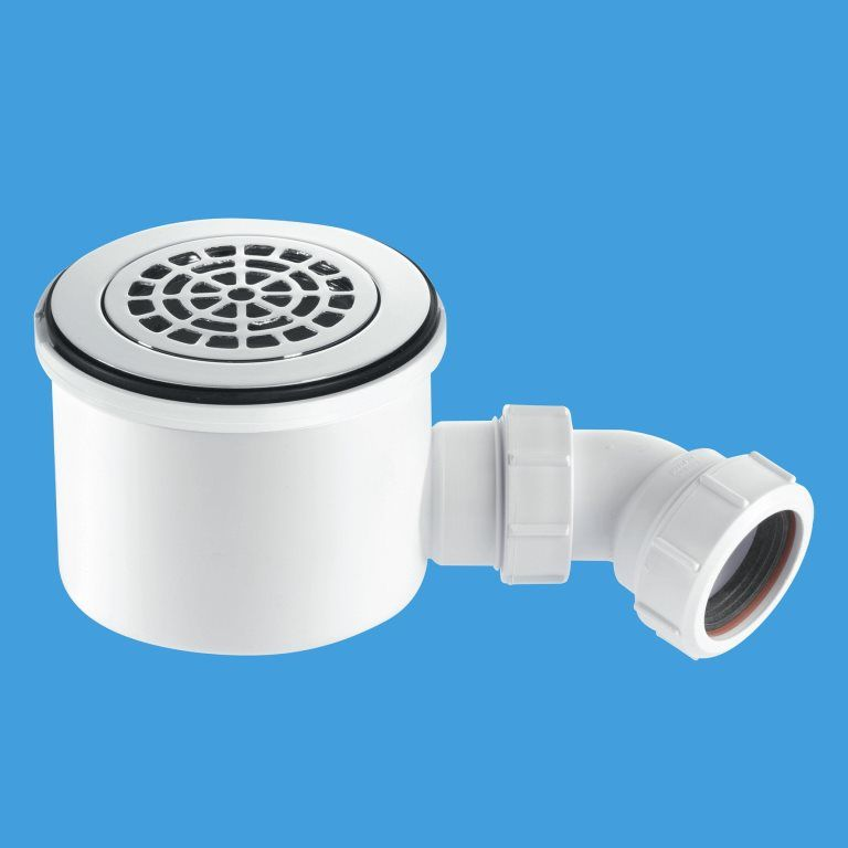 Mcalpine High Flow 90mm Shower Trap St90cpb P Hp2