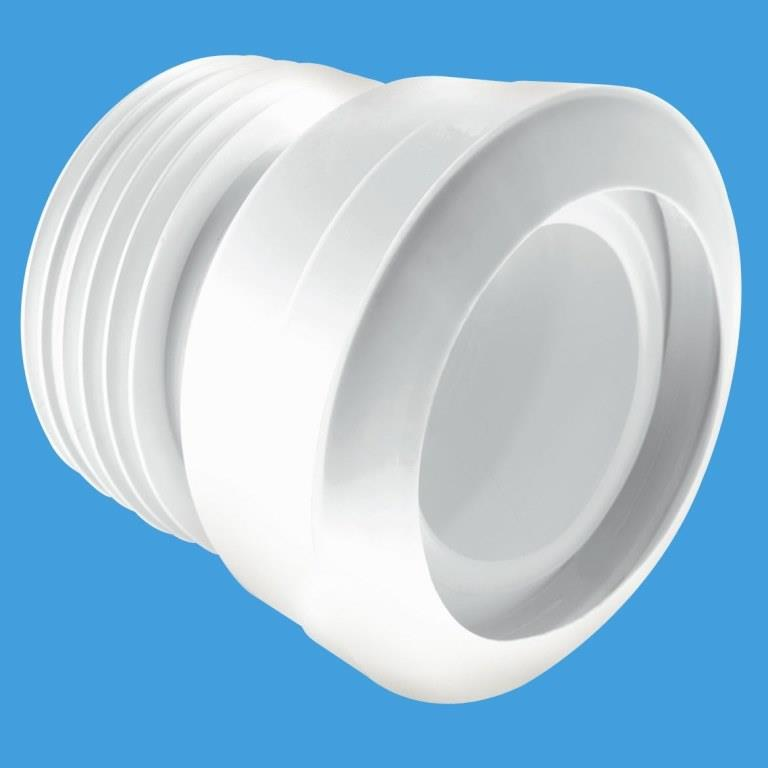 Mcalpine Macfit Short Toilet Pan Connector Mac 1