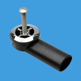McAlpine Overflow Elbow for Thick Kitchen Sinks - 74001014 ...