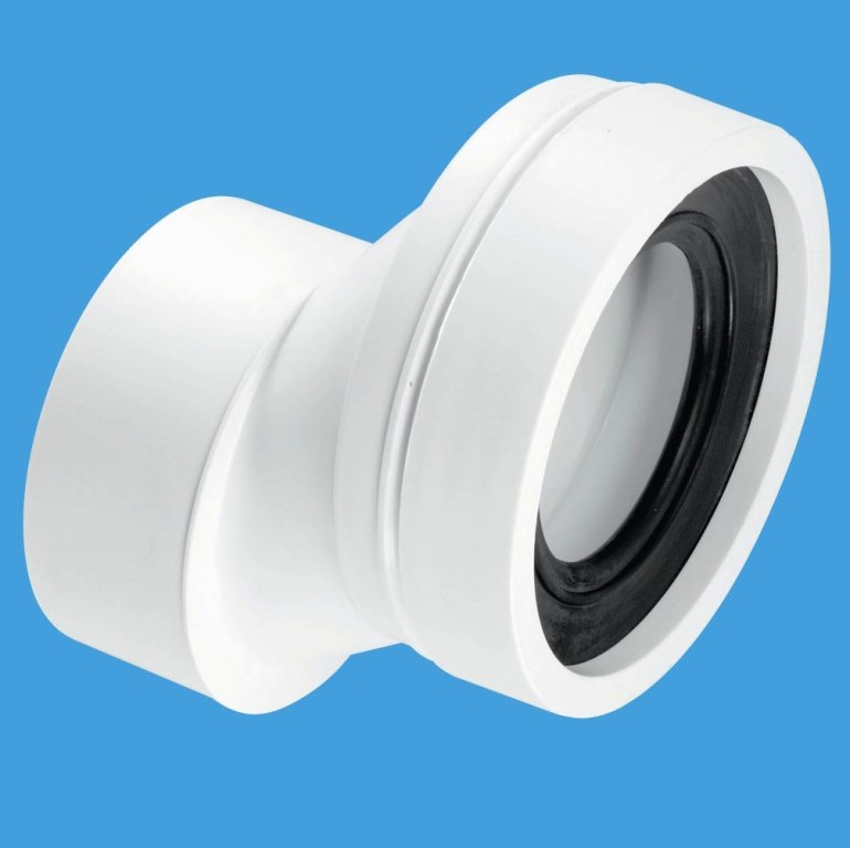 Mcalpine Plain End 40mm Offset Toilet Pan Connector