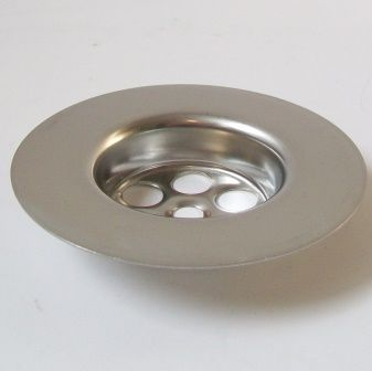 McAlpine Stainless Steel 85mm Centre Pin Waste Flange - 39000012