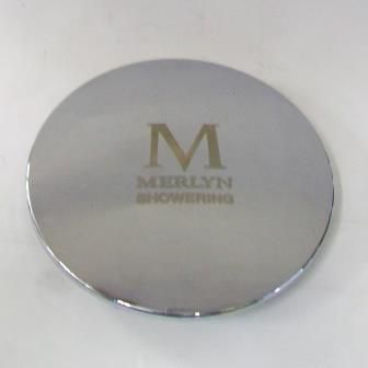 Merlyn Chrome Shower Waste Top Cover 113mm 74000093