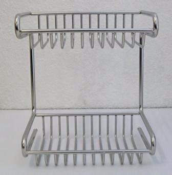 Metlex Mercury 2 Tier Wire Shower Basket