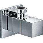 Minimalist Angled Wall Outlet Tap / Bidet Isolation Valve - 62003604