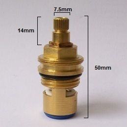 Pegler Iconic Ceramic Tap Valve Cartridge Cold Hkc22