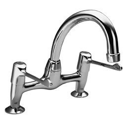 Pelger Perfoma Extended Lever Bridge Sink Mixer - 58004080
