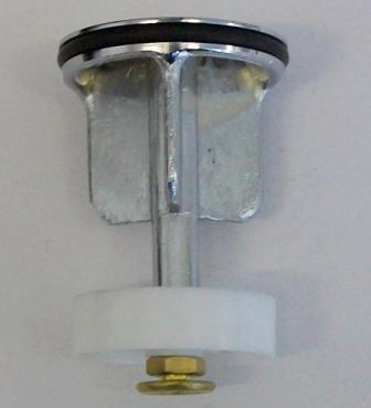 Pop up basin plug with Shuttle