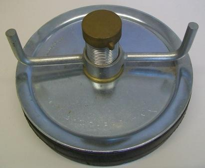 Pressed Steel Drain Plug 200mm Or 8 Inch Plumbers Mate Ltd