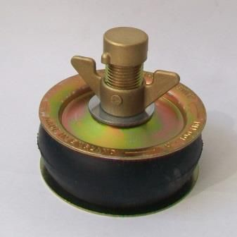 Pressed Steel Heavy Duty Drain Testing Plug 4 Quot 110mm Plumbers Mate Ltd