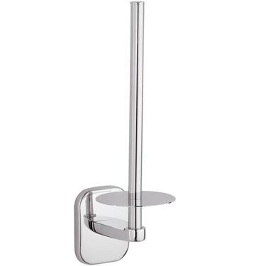 Suite Chrome Spare Toilet Roll Refill Holder - 01000039