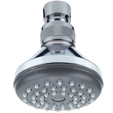 Swivel Overhead Shower Head With Anti Limescale Nozzles   50302917 .