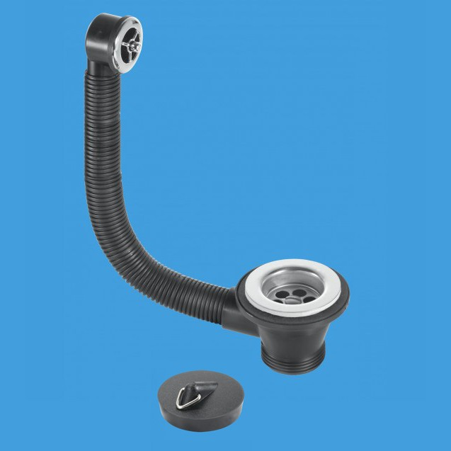 Vanity And Stainless Steel Basin Waste And Overflow Kit 74000130 Plumbers Mate Ltd