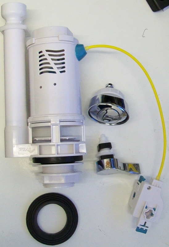 Viva Dual Flush Cable Button Or Lever Operation Valve