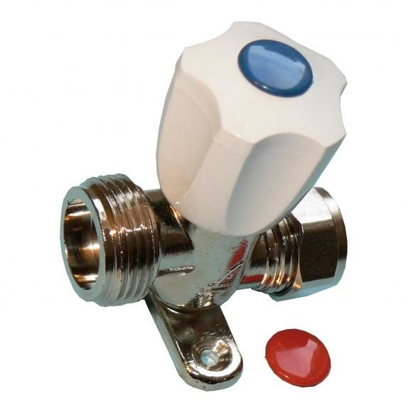 Washing Machine Inline Inlet Tap Valve With Knob